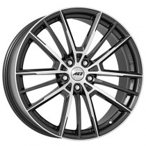 AEZ Kaiman dark 17x7,5 black polished