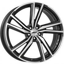 AEZ North dark 18x8 5x108 ET42 gunmetal polished
