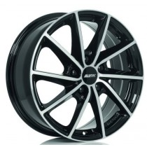 Alutec Singa 17x7 black polished