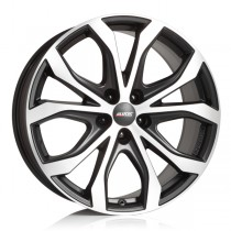 Alutec W10 18x8 black polished