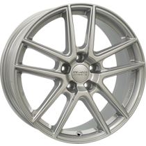 Anzio Split 5 spoke 17x7 silver