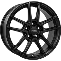 Anzio Split 5 spoke 17x7 matt black