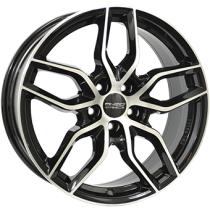 Anzio Spark 18x8 black polished