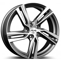 GMP Arcan Anthracite polished 18x7,5