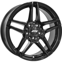 ATS Mizar 18x8,5 shiny black