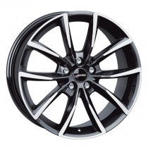 Autec Astana 17x7 black polished