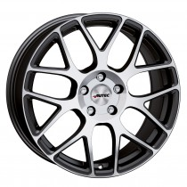 Autec Hexano 18x8 Black Polished
