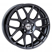 Autec Hexano 18x8 Black Metallic