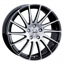 AUTEC TYPE O - OKTANO BLACK POLISHED 19x8