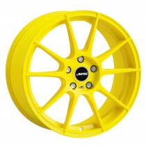 AUTEC TYPE W - WIZARD ATOMIC YELLOW 18x8