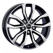 Autec Uteca 17x7,5 black polished
