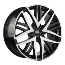 CMS B1 Diamond Black 17x8