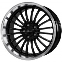 Brock B24 GP 20x9 black polished