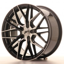 Japan Racing JR28 22x9 blank black machined