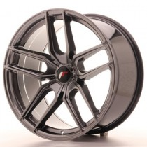Japan Racing JR25 20x10 Blank hiper black