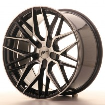 Japan Racing JR28 18x8,5 blank black machined