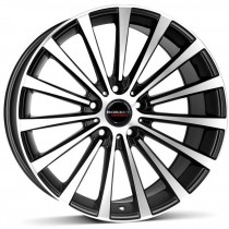 Borbet BLX 20x8,5 black matt polished