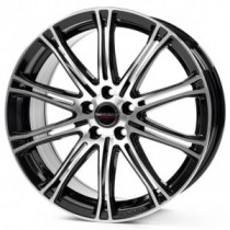 Borbet CW1 18x8 black polished