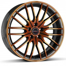 Borbet CW4 17x8 black orange
