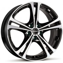 Borbet XL 18x8 black polished