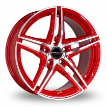 Borbet XRT 17x8 red polished