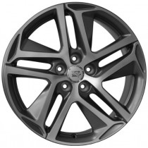 WSP Italy Brest 17x7,5 matt gun metal polished
