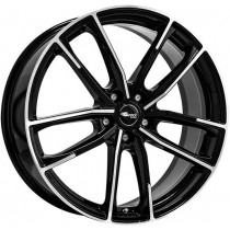 Brock B38 18x8 Black Polished