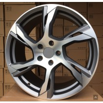 R Line VOVY1175 anthracite polished 20x8,5 5x108 ET43 63,4