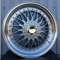 Racing Line RLBY479 silver with polished lip 16x7 5x112/120 ET25 74,1