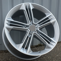 R Line ABY5568 silver 20x9 5x112 ET35 66,45