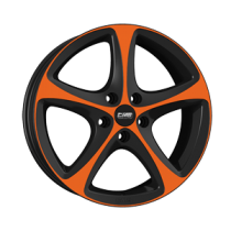 CMS C12 18x8 Orange Black gloss