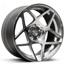 3SDM 008 20x9 Silver Polished