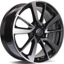 Carbonado Japan 17x7 5x114,3 ET40 black front polished