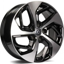 Carbonado Pacific 17x7 5x114,3 ET40 black front polished