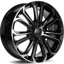 Carbonado Panther 16x6,5 5x108 ET45 black front polished