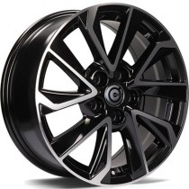 Carbonado Dynasty 17x7 5x114,3 ET40 black polished