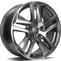 Carbonado Nice 17x7,5 5x108 ET45 anthracite polished