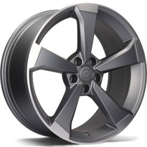 Carbonado Twister 18x8 5x112 ET30 anthracite polished