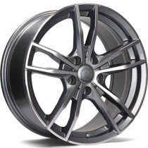 Carbonado Volcano 18x8 5x120 ET30 anthracite polished