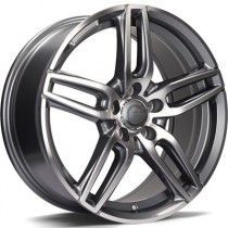 Carbonado Way 17x7,5 5x112 ET45 anthracite polished