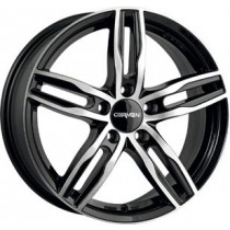 Carmani 14 Paul 17x7,5 black polished