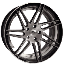 "Forzza Charge 19"" 5x120 black polished YU3266"