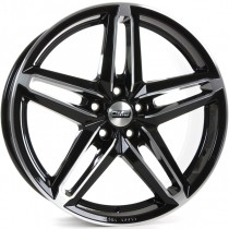 CMS C14 18x8 Diamond Black gloss