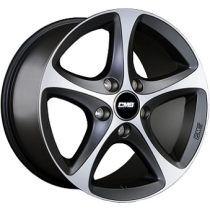 CMS C12 SUV 20x9 black polished