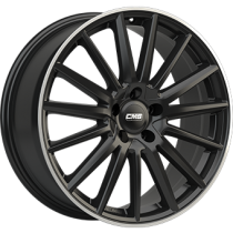 CMS C23 18x8 black polished