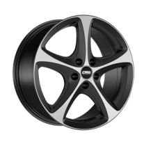 CMS C12 17x8 black polished