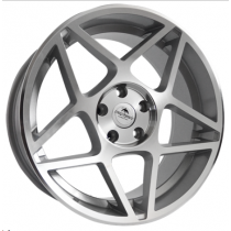 Forzza Cosmo 18x8,5 5x112 ET35 66,45 silver polished