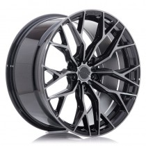 Concaver CVR1 22x10 double tinted black performance concave