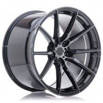 Concaver CVR4 22x9 double tinted black performance concave