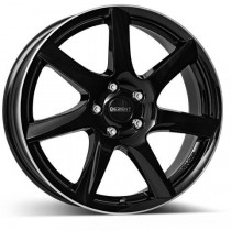 Dezent TW black lip polished 17x7